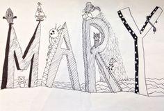 Cartoon name. To My Daughter, Artworks, Art Pieces, Cartoon, Engineer Cartoon, Cartoons, Comic