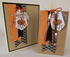 September Paper Pumpkin set #1 |  Diane Vander Galien