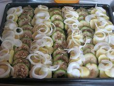 moje záľuby...: Cuketovo-zemiakový pekáč