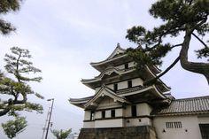 Tsukimi Yagura au Château de Takamatsu