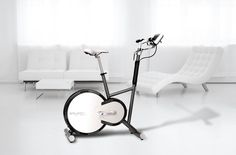 Picture of SFE-009, an innovative  ergometer combining extraordinary design and most modern technology for your exercises at home