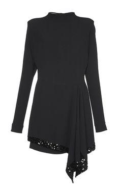 Sequin Draped Satin Crepe Dress by MARNI for Preorder on Moda Operandi