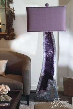 Empressive GeoDesigns, Inc.- Mineral Lamps, Minerals, Amethyst Geod Lamp Crystal Quartz, Citrine - galleries-click-here - minerals-a-d - - 1 Crystals And Gemstones, Stones And Crystals, Crystals Minerals, Feng Shui, Crystal Furniture, Deco Zen, Crystals In The Home, Crystal Decor, All Things Purple