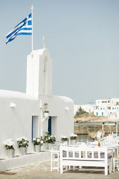 Getting married? The Venetian Port of Naoussa #Paros makes a dreamy #wedding destination via @Belle & Chic #greekislands