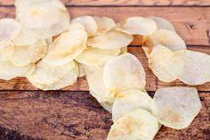 Homemade Lay's Potato Chips Recipe by Food Fanatic Healthy Breakfast Recipes, Snack Recipes, Cooking Recipes, Cooking Game, Homemade Crisps, Lays Potato Chips, Buy Store, Chips Recipe, Mini Foods