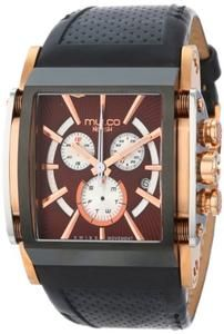 MULCO Unisex MW1-29785-125 Analog Chronograph Swiss Watch