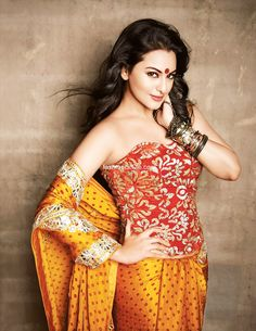 sonakshi sinha / Why do Indian models smile, while western models look moody? Because Indian models know without a doubt that they are hot! Ab~Fab Gorgeous!