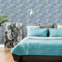 "Heslin Mare 396' x 20.5"" Wallpaper Roll & Reviews 