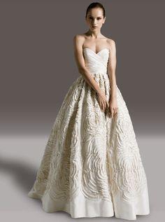 Amsale Dahlia Wedding Dress.