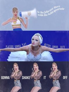 shake it off- Who else is obsessed with the song?! I've listened to it soooo much today.