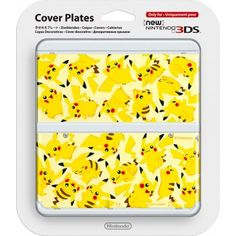 New Nintendo 3DS Cover Plate (Pikachu)