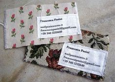 fabric business cards