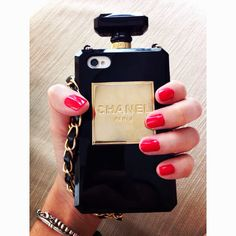 GET HERE: http://www.glamzelle.com/collections/accessories-iphone/products/cc-perfume-bottle-clutch-chain-iphone-case-many-colors-available-1
