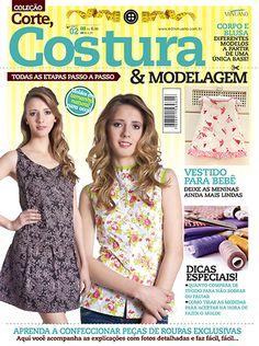 Artesanato - Tecidos - Corte Costura : CORTE COSTURA E MODELAGEM 002 - Editora Minuano