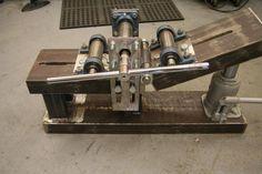 ручной станок для гибки профильной трубы пг 2