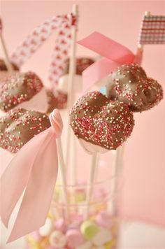 Chocolate Dipped Marshmallows - Keep your eyes peeled for heart shaped marshmallows.