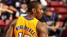 Metta Worldpeace. Ron Artest.