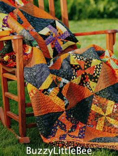 Halloween Quilt Patterns | Details about Quilt Pattern~Simply Bewitching~Use s Funky Halloween ...
