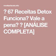 → 67 Receitas Detox Funciona? Vale a pena? → [ANÁLISE COMPLETA]