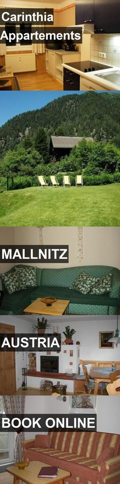Hotel Carinthia Appartements in Mallnitz, Austria. For more information, photos, reviews and best prices please follow the link. #Austria #Mallnitz #CarinthiaAppartements #hotel #travel #vacation