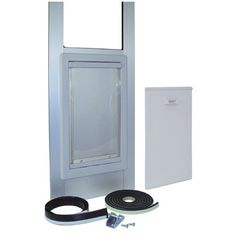Modular Vinyl Patio Door Size Medium 7675785 H x 14 W x 25 L * To view further for this item, visit the image link.