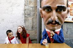 large head parade - Google Search