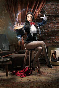 Zatanna, A Magic Trick by jaytablante.deviantart.com on @deviantART