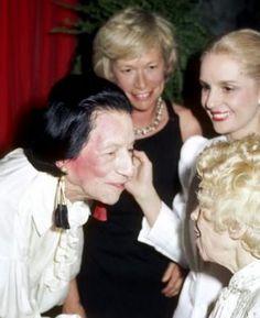 Diana Vreeland with Carolina Herrera