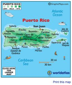 Location of the different yucayeques villages in the puerto rico puerto rico map httpworldatlaswebimagecountrysnamericacaribb prm gumiabroncs Choice Image