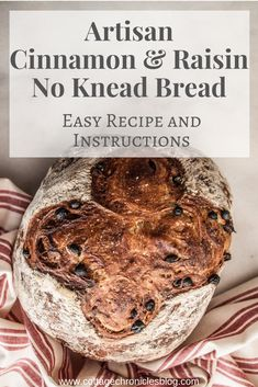 Easy Bread recipe that anyone can make no baking experience required!Just a few ingredients and 5 minutes of prep time and you're on your way to crusty rustic amazing bread! No Knead Bread, Yeast Bread, Bread Baking, Healthy Bread Recipes, Delicious Recipes, Easy Recipes, Savory Scones, Recipe Cover, Best Italian Recipes