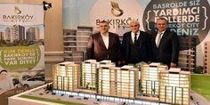 Bakırköy City projesi, bugün İstanbul Beşiktaş'taki Çırağan Sarayı'nda düzenlenen lansman toplantısı...