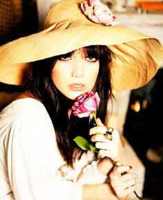 Society-girl, Daisy Lowe poses for photographer Ellen Von Unwerth modelling looks from the second Biba campaign. Biba Fashion, Fashion News, Womens Fashion, Fashion Images, Daisy Lowe, Ellen Von Unwerth, Biba Collection, Cute Hats, Big Hats