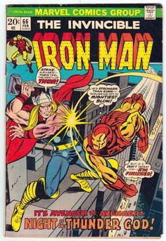Iron Man #66 (1974) Gil Kane Cover Art Michael (Mike) Esposito Inks