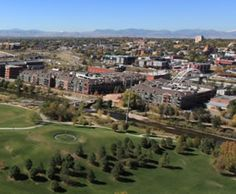 Riverfront Park, the buffer between the two greatest places in Denver!