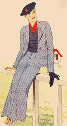 Pin by women's fashion on suits. 1930s Fashion, Vintage Fashion, 1940s Woman, Video Studio, Art Journal Techniques, Costume, Healthy Recipes For Weight Loss, Disney Drawings, Fashion Plates