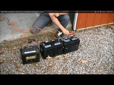 How To Weld With Car Batteries In An Emergency...Useful Trick In an Emergency Using Jumper Cables - The Good Survivalist