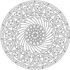 Mandalas are great for dealing with stress, not just for adults, but for youth as well.