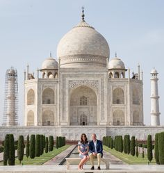 William and Kate embarked on a weeklong tour of India and Bhutan in April 2016, visiting the Mumbai slums, trekking up to the Tiger's Nest in Thimphu, and visiting the Taj Mahal—posing in the same place that Princess Diana was famously photographed in in 1992.