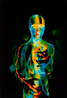 "photographs or ""light paintings"" of Butoh dancers by Patrick Rochon"