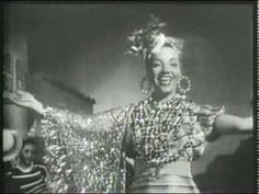 "CARMEN MIRANDA - O QUE É QUE A BAIANA TEM ""That's the first time Carmen Miranda ever appeared wearing a Bahiana costume in a movie."""