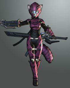 Female Sci-Fi armor inspiration and ideas