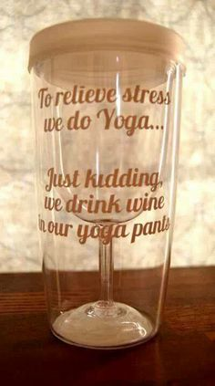 In case of stress...