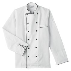 Five Star Chef Apparel 18000 Unisex 8-Button Chef Jacket Encompass