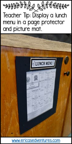 Home Interior Catalogo Lunch Menu display for the classroom.Home Interior Catalogo Lunch Menu display for the classroom Quirky Home Decor, Cute Home Decor, Home Decor Signs, Classroom Setting, Classroom Decor, Future Classroom, Interior House Colors, Home Interior, Interior Livingroom