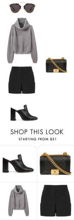 """#work"" by liekejongman on Polyvore featuring Dorateymur, Alexander Wang and Christian Dior"