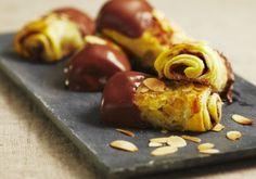Cigares feuilletés chocolat pommes amandes   Croquons La Vie - Nestlé