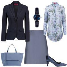 mi vesto bene con poco poco di +  outfit donna Bon Ton per ufficio  321e359474f