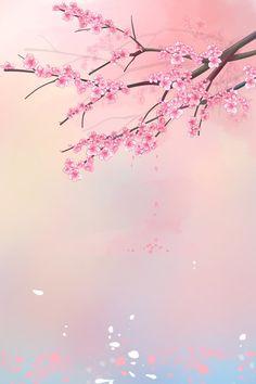 Anime Cherry Blossom, Pink Blossom Tree, Cherry Blossom Wallpaper, Cherry Blossom Background, Cherry Blossom Petals, Pink Wallpaper Girly, Pink Wallpaper Backgrounds, Butterfly Wallpaper, Cute Wallpaper Backgrounds