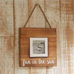 Mud Pie, Mudpie, Fun In The Sun Hanging Frame