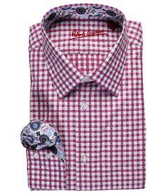 Robert Graham Jeremy Dress Shirt Burgundy - Zappos.com Free Shipping BOTH Ways